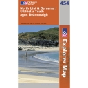 Explorer Map 454 North Uist and Berneray