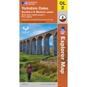 Explorer Map OL2 Yorkshire Dales - Southern and Western Area