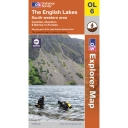 Explorer Map OL6 The English Lakes - South Western Area