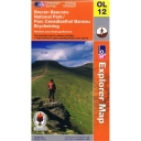 Explorer Map OL12 Brecon Beacons - Western & Central Areas