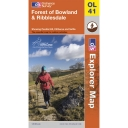Explorer Map OL41 Forest of Bowland & Ribblesdale