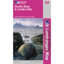 Landranger Map 32 South Skye and Cullin Hills