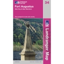 Landranger Map 34 Fort Augustus