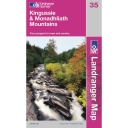Landranger Map 35 Kingussie and Monadhliath Mountains