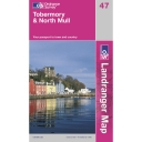 Landranger Map 47 Tobermory and North Mull