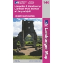 Landranger Map 146 Lampeter and Llandovery