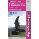 Landranger Map 161 The Black Mountains