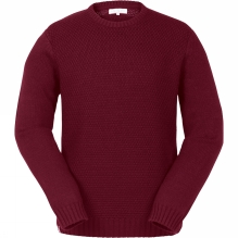 Mens Woodward Basket Weave Jumper