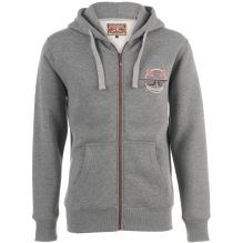 Mens Crossed Oars Zip Hoody
