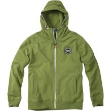 Mens Zip funnel Neck Hoody