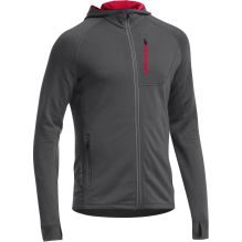 Mens Quantum Long Sleeve Zip Hood