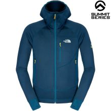 Mens Granular Hooded Fleece