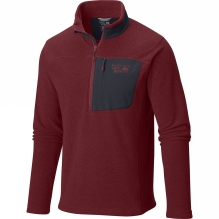 Mens Toasty Twill 1/2 Zip Fleece