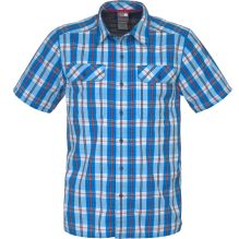 Mens Short Sleeve Pine Knot Woven Shirt