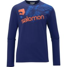 Mens Long Sleeve Cotton Poly Tee