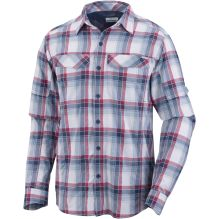 Mens Silver Ridge Plaid Long Sleeve Shirt