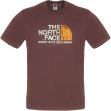 Mens Short Sleeve Rust T-Shirt
