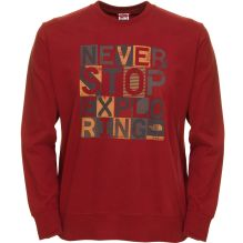 Mens L/S Letterblock T-Shirt