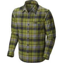 Mens Stretchstone Flannel Long Sleeve Shirt