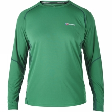Mens Tech Tee Long Sleeve Crew Neck