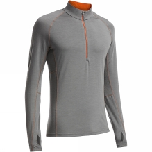 Mens Zone Long Sleeve Half Zip
