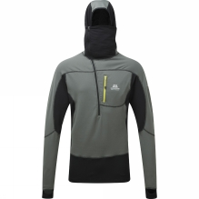 Mens Eclipse Hooded Zip Tee