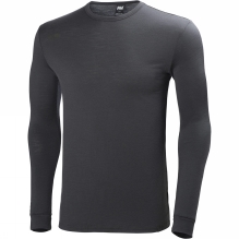 Mens HH Wool Long Sleeve Top