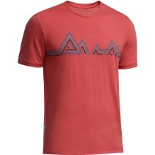 Mens Tech Light Short Sleeve Tee Mountain Beat