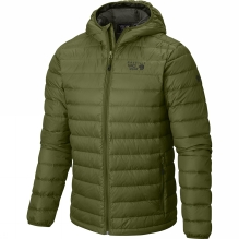 Mens Micro Ratio Hooded Jacket