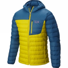 Mens Dynotherm Hooded Down Jacket
