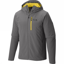 Mens Super Conductor Hooded Jacket