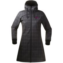 Womens Vika Checked Coat