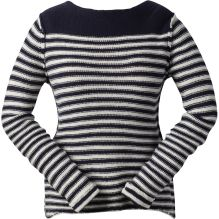 Womens Daisy Reverse Knit Stripe Jumper