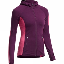 Womens Atom Long Sleeve Zip Hood