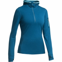 Womens Terra Long Sleeve Half Zip Hood
