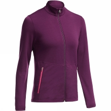 Womens Victory Long Sleeve Zip