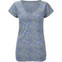 Womens Essential Tile Ruched Short Sleeve