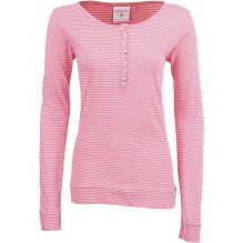 Womens Stripe Henley