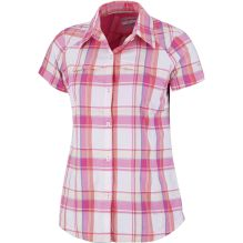 Womens Silver Ridge Multi Plaid Short Sleeve Shirt