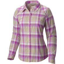 Womens Silver Ridge Plaid Long Sleeve Shirt