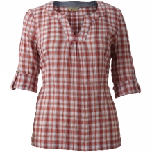 Womens Peasant Plaid Pullover
