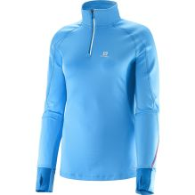 Womens Trail Runner Warm Long Sleeve Zip T-shirt