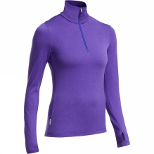 Womens Tech Top Long Sleeve Half Zip