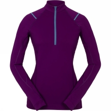 Womens Ensa Long Sleeve Zip Neck
