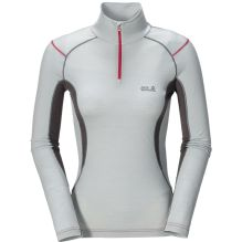 Womens Merino Zip Shirt