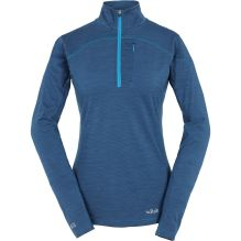 Womens MeCo 190 Long Sleeve Zip Tee