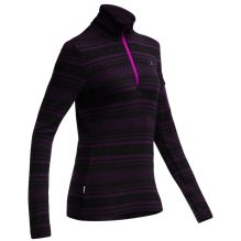 Womens Vertex Long Sleeve Half Zip Fair Isle