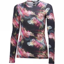 Womens HH Wool Graphic Long Sleeve Base Layer