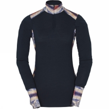 Womens HH Wool Graphic Half Zip