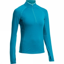 Womens Zone Long Sleeve Half Zip
